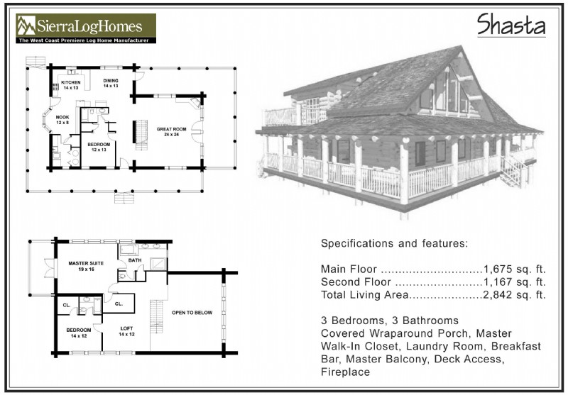 2 500 to 3 000 sq ft alpine blue log homes