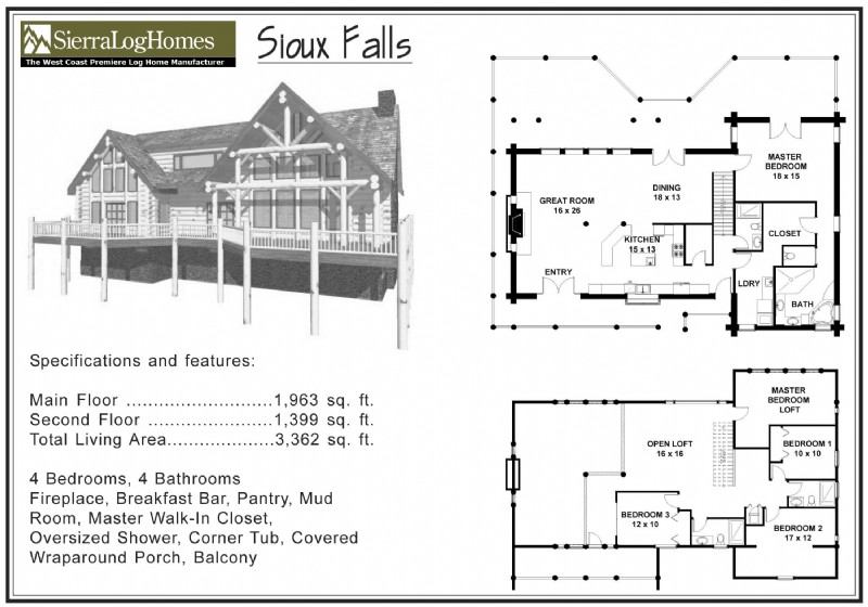 sioux falls - House Plans 3000 To 3500 Square Feet