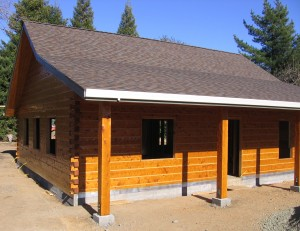Napa County Log Home - Perfect for a wine tasting room!