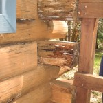PREVENTING LOG ROT IN YOUR LOG HOME